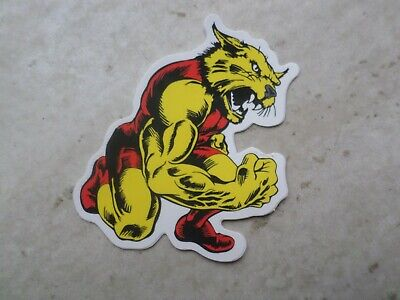 Quality Muscle Cat Sticker Banksy Skateboard Santa Cruz Supreme Vans Stussy