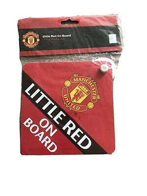 Manchester United Little Red On Board Car Sign
