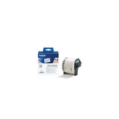 Brother 62mmx30.48M Continuous Removable White Paper Tape