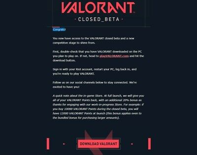 Valorant account EU closed Beta Test Instant delivery EMAIL CHANGE