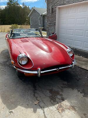 1970 E Type Series 2 Roadster Running and Driving