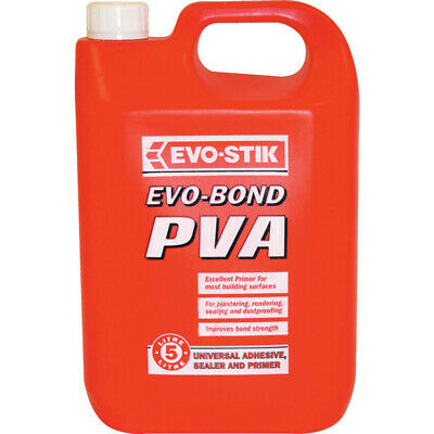 Evo-stik Evobond Pva Jerry Bottle 5LTR
