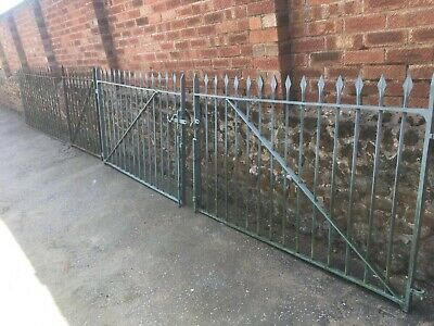Reclaimed iron gates and panels