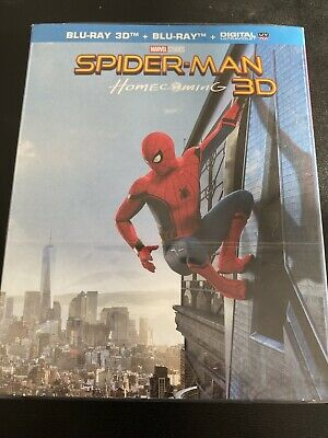 Spiderman Homecoming Combo Bluray 3D + Bluray Collector France Neuf
