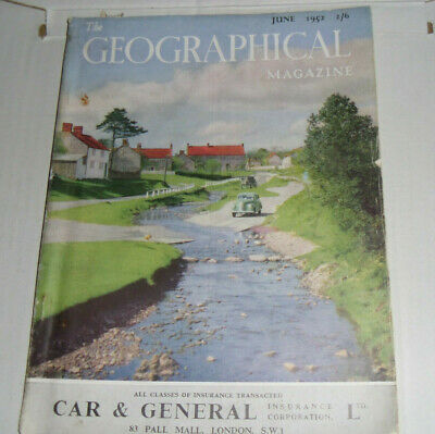 The Geographical Magazine,June,1952:Full Page Colour Guinness Pelican Advert