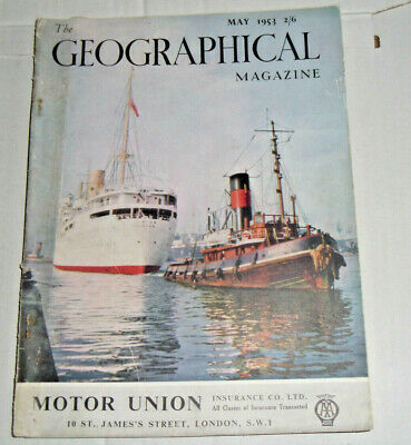The Geographical Magazine,May,1953:Full Page Colour Guinness Advert
