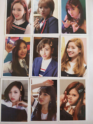 Twice Signal Monograph Official photocard / photobook dvd kpop