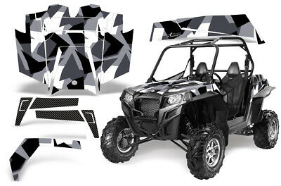 Stars /& Stripes AMR Racing UTV Graphics kit Sticker Decal Compatible with Polaris Ranger XP 500//800//900 2010-2014