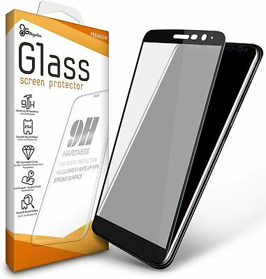 For LG K51 Screen Protector [Full Coverage] Edge to Edge Tempered Glass - 1 Pack
