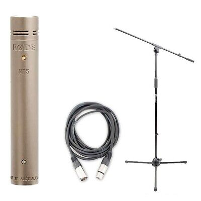 Rode NT5 Cardioid Condenser Microphone w/ AxcessAbles Cable and Microphone Stand