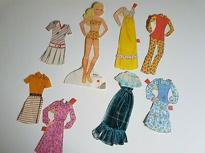 Mom 1978 Mattel Paper Doll Set Vintage