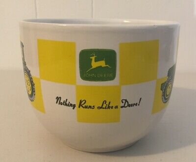 John Deere Oversized 32oz Coffee Cup Gibson for Soup Chilli Bowl Large XL Mug