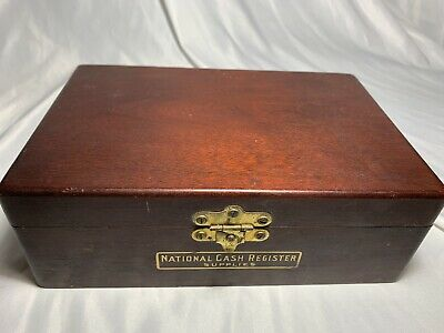 National Cash Register Supplies Box Vintage