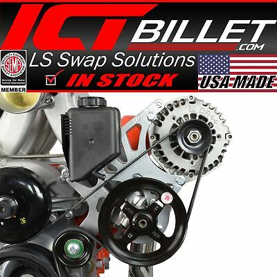 LS Truck - Alternator / Power Steering Pump Bracket Kit