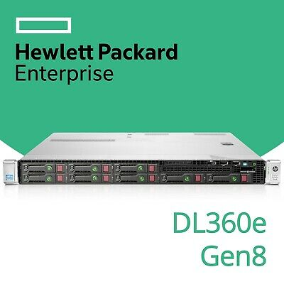 HP ProLiant DL360e Gen8 2x Hex 6-Core Xeon E5 64GB RAM P420 FBWC 1U Server