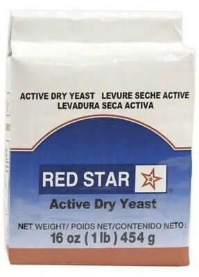 Red Star Active Dry Yeast 1 LB  Bread Cake Bake Baking