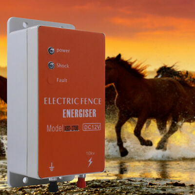Pro Animals Electric Fencing Controller Electric Fence Energizer Moulde 10KM Kit