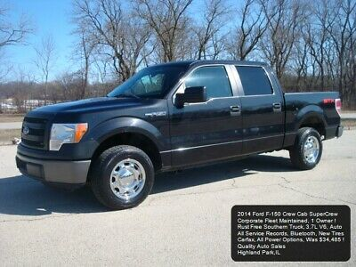 2014 Ford F-150 Crew Cab STX XL F150 2014 FORD F-150 CREW CAB FLEET MAINTAINED ALL SERVICE RECORDS NEW TIRES V6 STX