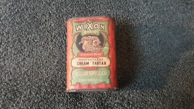 Wixon Cream Tartar Spice Tin Can Chicago Illinois Big Horn Sheep Ram