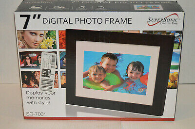 Supersonic 7 inch Digital Photo Frame SC-7001
