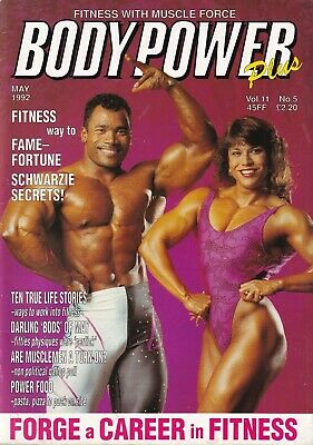 Bodypower Plus Bodybuilding Magazine May 1990 (Poster Included)