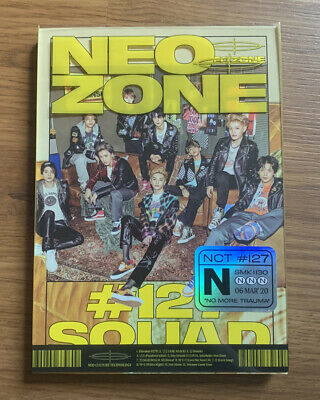 Nct 127 Neo Zone The 2Nd Album N Version No Photocard