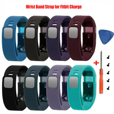 Silicone Wrist Band Strap Bracelet Replacement For Fitbit Charge Tracker Watch