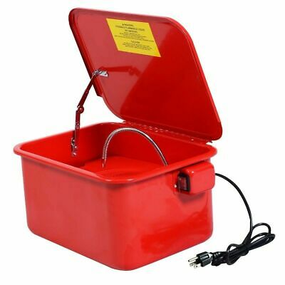 3.5 Gallon Parts Washer Cleaner Portable Compact Electric Solvent Pump