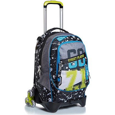 Trolley Seven Jack 3Wd Street Player Colore Nero