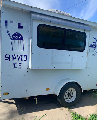 """Used 2003 6'.5"""" x 10' Snowball / Shaved Ice Concession Trailer in Great Shape fo"""