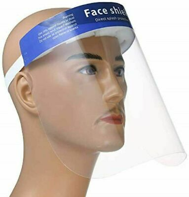 Safety Full Face Shield Clear Protector Work Industry Dental Anti-Fog 1pc