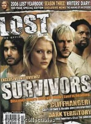 Lost Offical Magazine - Survivors Cover - Season 3 - Lost Yearbook #6A