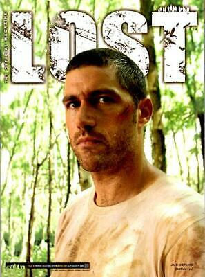 Lost Official Magazine - Matthew Fox - Jack - Limited Edition Variant Cover #1B
