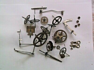 Cogs Etc  From An Enfield Mantle Clock. Mechanism Was 1 7/16 Inch Deep  Ref Zc1