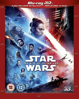 Star Wars: The Rise Of Skywalker - Blu-Ray 3D [Region Free, Disney, Action] NEW