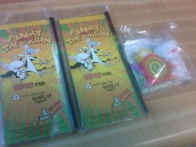 1997 Pinky and The Brain, Wendy's Kids Meal Toys