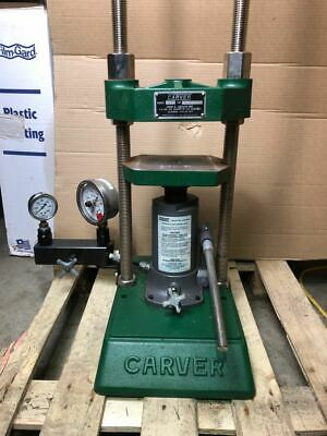 Carver Press C 12 Ton Max Laboratory Hydraulic Lab Bench Top
