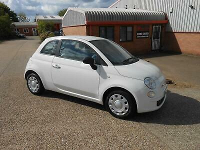 Fiat 500 1.2 ( s/s ) POP A/CON FSH 1 OWNER WHITE VGC ALL ROUND £30 TAX SERVICED