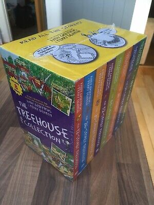 New The Treehouse Storey Collection Set 8 Books 13-104 Bundle Andy Griffiths