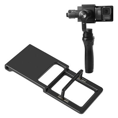 Adapter Switch Mount Plate For Hero 5 4 3 DJI Osmo Mobile Gimbal Smooth UK_tiPFJ