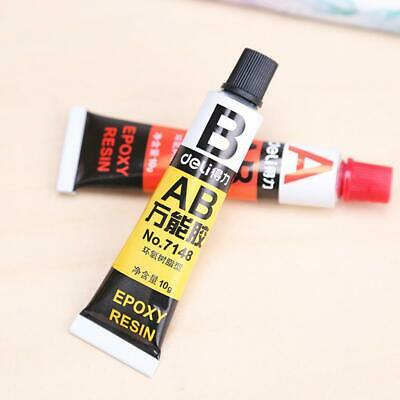 2pcs Super Strong STEEL EPOXY 5 Minutes Adesive Glue Masonr Wood F5X3 Metal O2M8