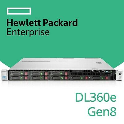 HP ProLiant DL360e Gen8 2x Hex 6-Core Xeon E5-2430, 16GB RAM (ILO Not Working)