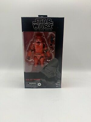 Star Wars The Black Series Sith Jet Trooper Toy 6-inch Scale Star Wars New