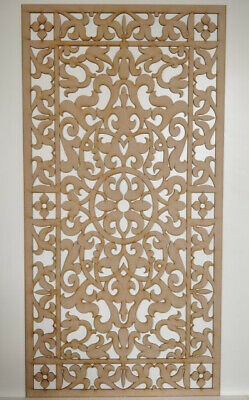 Radiator Cabinet decor. Screening Perforated 3mm & 6mm thick MDF laser cut G20A
