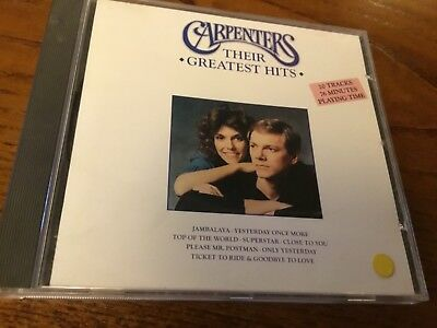 The Carpenters - Gold Only Yesterday - Greatest Hits - Close To You / Superstar