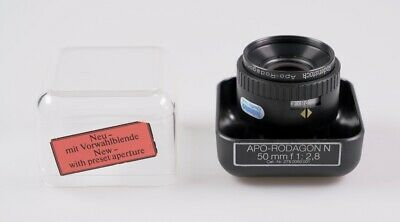 Rodenstock APO-Rodagon N 50mm f2.8 - enlarging lens - nice condition!