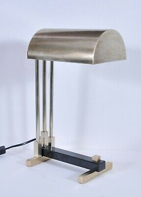 Bauhaus table lamp, Marcel Breuer design, art deco style