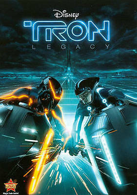 Tron: Legacy (DVD, Region 1) Very Good condition from personal collection!
