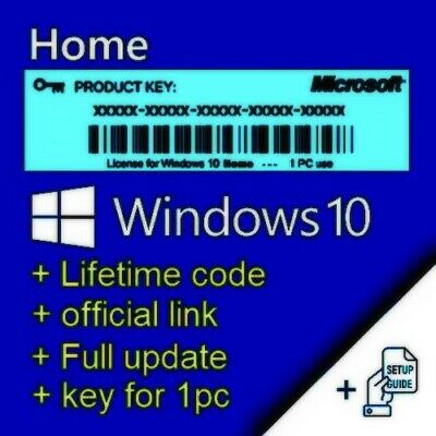 Visio Professional 2019, Key For 1 Pc, Activation Of Windows 10 Home, + Link