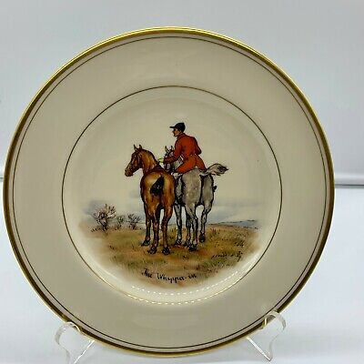 Abercrombie Fitch Equestrian Horse Jockey Whippa-In Plate Vosmansky Signed